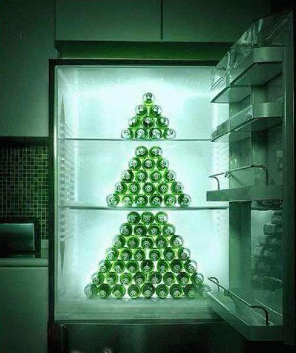 Weihnachtsbaum witzig